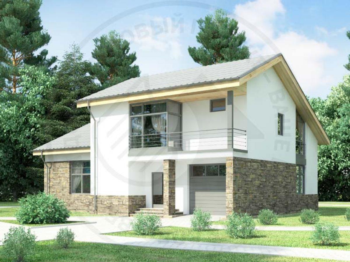 Каталог проектов домов. проект дома 59-59 общ. площадь 209,74 м2