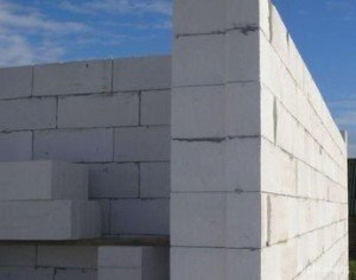 Газоблок газобетон стеновой, перегородочный