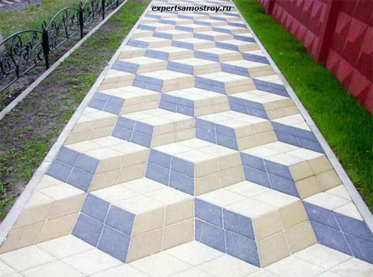 Как переложить тротуарную плитку своими руками