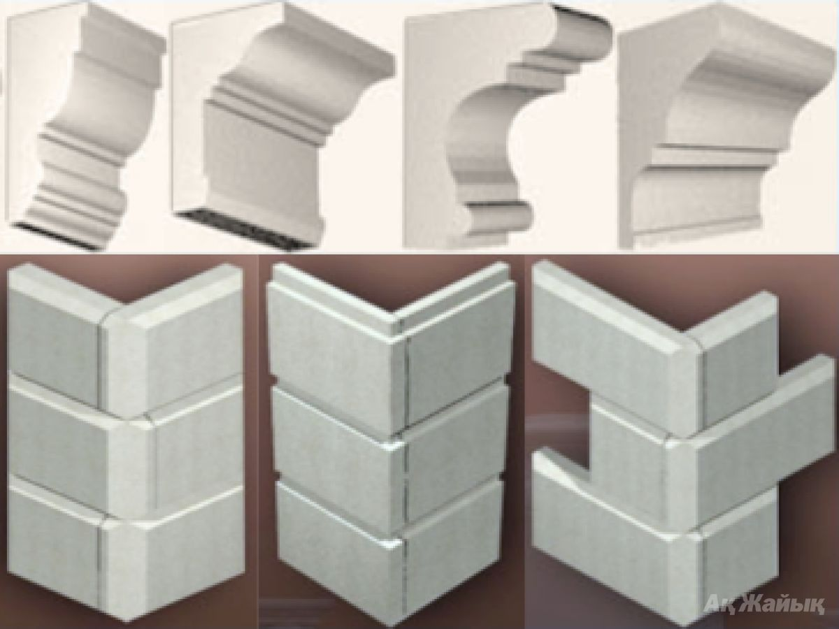 Декоративная фасады из пенопласта своими руками 36