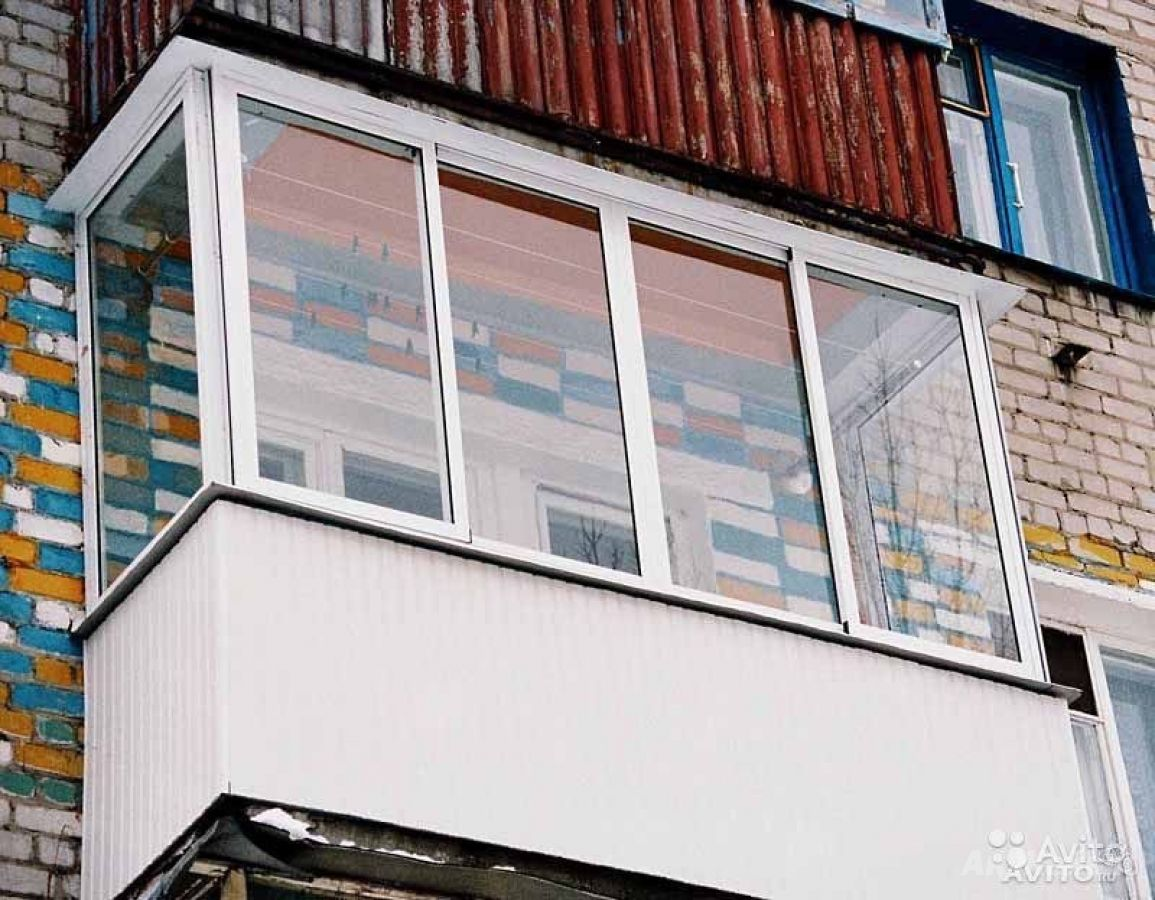 Остекление балконов и лоджий по системе provedal: фото вариа.