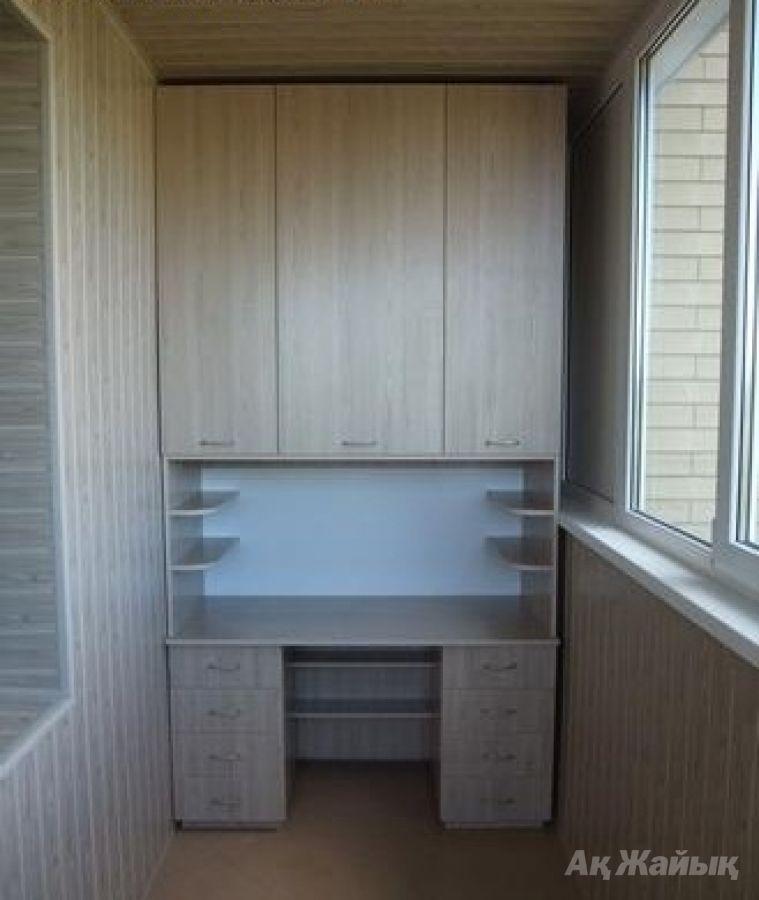 Встроенная мебель на балкон фото.