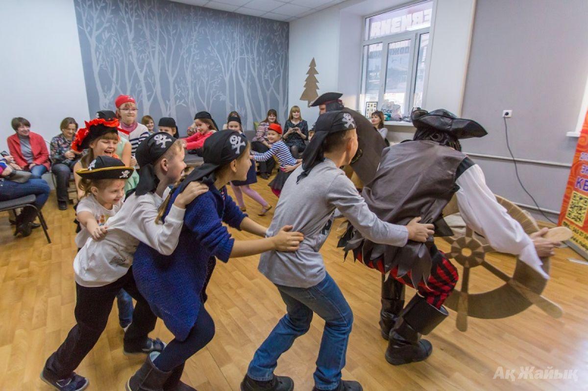 Конкурсы детских пиратских вечеринок