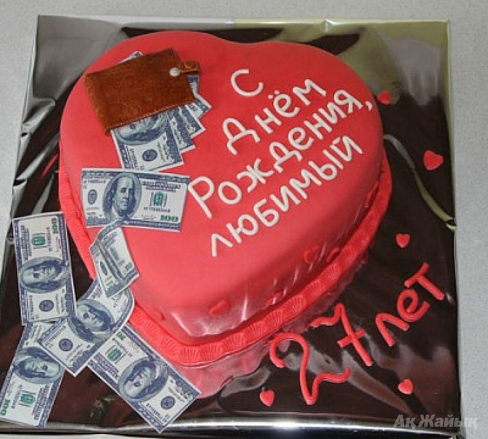 Торты на день рождения мужа фото