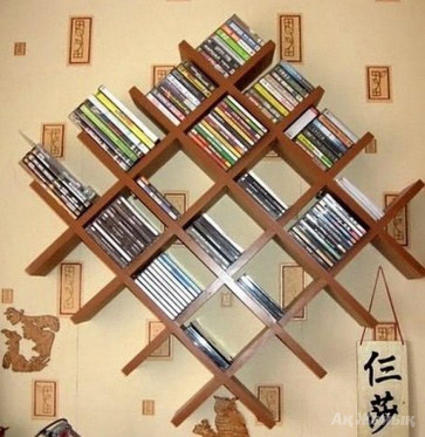 Полка для книг своими руками фото