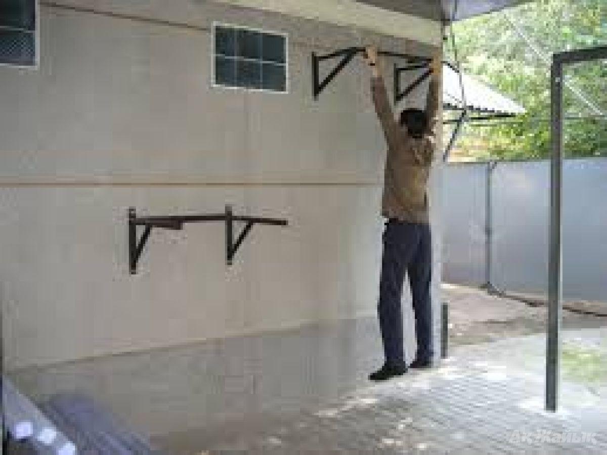 Из чего сделать брусья дома своими руками