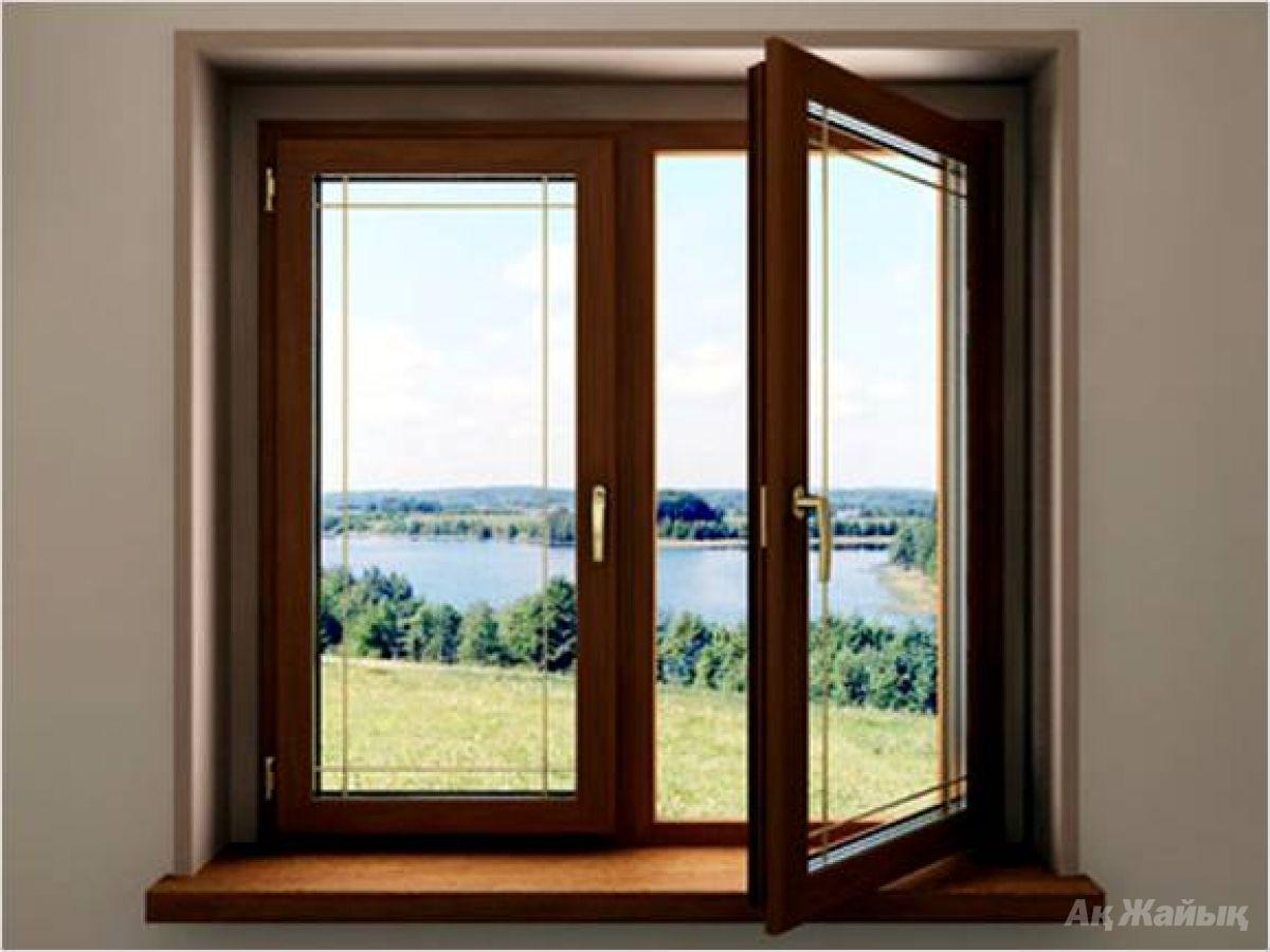 Дерево-алюминиевые окна, двери - 12000 руб. объявление в кр.
