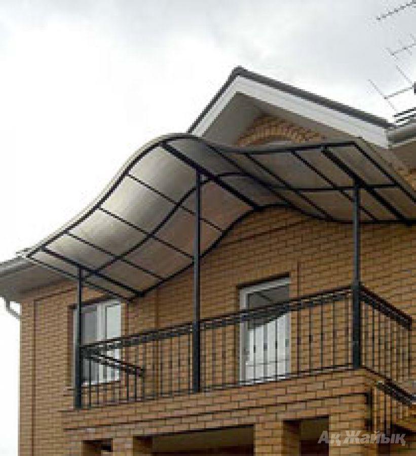 Как сделать балкон в частном доме фото