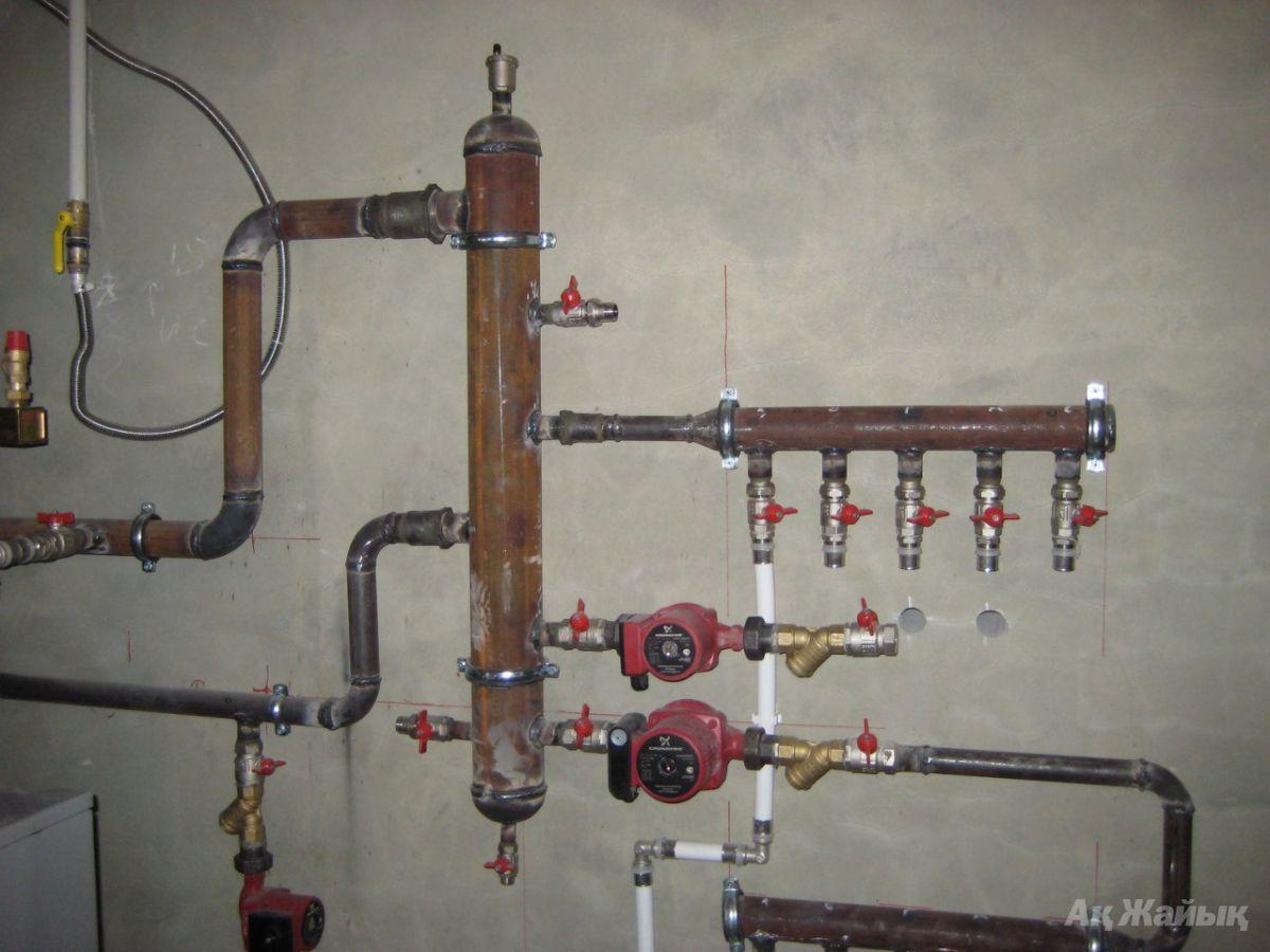 Установка гидрострелки в системе отопления своими руками