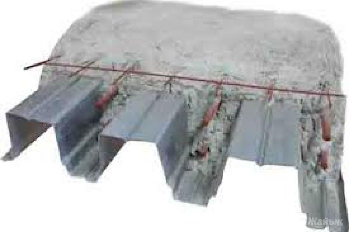 Несъемная опалубка из профнастила для перекрытий