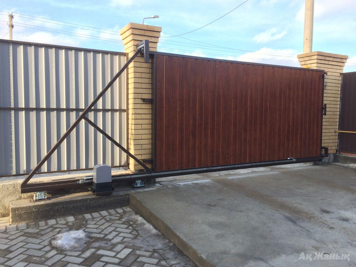 Фото схем сдвижных ворот